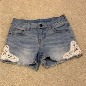 Cherokee Girls Lace side Shorts